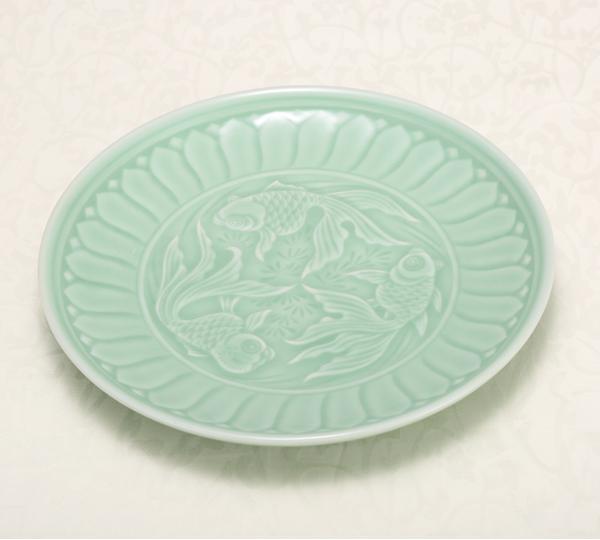 54頭錦鯉戲水餐具